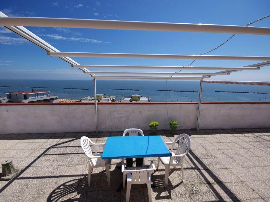 appartamento attico in vendita al lido di pomposa con terrazza vista ...
